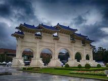 Όμορφη και μεγάλη ταϊβανική αναμνηστική αίθουσα Στοκ Εικόνες