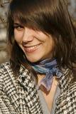 όμορφη καλή γυναίκα χαμόγε Στοκ Φωτογραφίες
