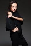 όμορφη καλυμμένη γυναίκα στούντιο Στοκ φωτογραφίες με δικαίωμα ελεύθερης χρήσης