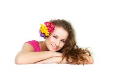όμορφη καλυμμένη γυναίκα Στοκ φωτογραφίες με δικαίωμα ελεύθερης χρήσης