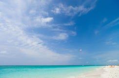 Όμορφη καραϊβική παραλία Στοκ Εικόνες