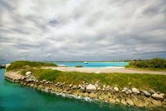 Όμορφη καραϊβική όψη Στοκ φωτογραφία με δικαίωμα ελεύθερης χρήσης