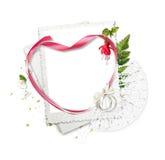 όμορφη καρδιά πλαισίων ανε& Απεικόνιση αποθεμάτων
