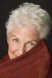 όμορφη καυκάσια ώριμη γυναίκα Στοκ φωτογραφίες με δικαίωμα ελεύθερης χρήσης