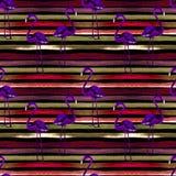 όμορφη κενή θερινή πετοσφαίριση παραλιών σφαιρών ανασκόπησης Άνευ ραφής σχέδιο Watercolor Χρωματισμένο χέρι τροπικό θερινό μοτίβο Στοκ φωτογραφία με δικαίωμα ελεύθερης χρήσης
