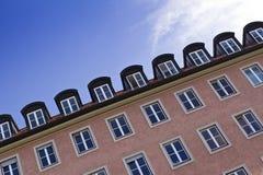 όμορφη κεντρική πόλη διαμε&rh Στοκ φωτογραφίες με δικαίωμα ελεύθερης χρήσης