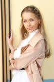 όμορφη κομψή γυναίκα Στοκ εικόνες με δικαίωμα ελεύθερης χρήσης