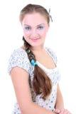 όμορφη κοτσίδα κοριτσιών sundr Στοκ Εικόνα