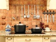 όμορφη κουζίνα νέα Στοκ Φωτογραφία