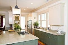 όμορφη κουζίνα στοκ φωτογραφίες