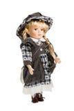 Όμορφη κούκλα κοριτσάκι Στοκ φωτογραφία με δικαίωμα ελεύθερης χρήσης