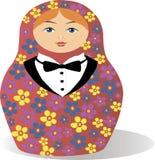 Όμορφη κούκλα με την πεταλούδα Στοκ φωτογραφία με δικαίωμα ελεύθερης χρήσης