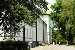 Όμορφη κρατική πανεπιστημιούπολη Gogol - Nizhyn, Ουκρανία Στοκ φωτογραφία με δικαίωμα ελεύθερης χρήσης
