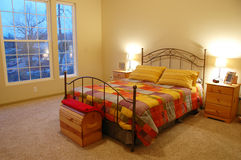 όμορφη κρεβατοκάμαρα Στοκ φωτογραφία με δικαίωμα ελεύθερης χρήσης