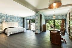 όμορφη κρεβατοκάμαρα Στοκ Φωτογραφία
