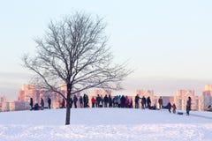 Όμορφη κρύα ημέρα Στοκ φωτογραφίες με δικαίωμα ελεύθερης χρήσης
