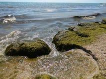 Όμορφη κυματωγή θάλασσας Στοκ εικόνα με δικαίωμα ελεύθερης χρήσης