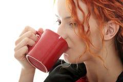 όμορφη κωφή γυναίκα Στοκ Φωτογραφίες
