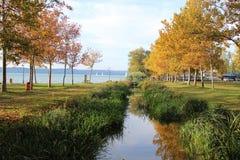 Όμορφη λίμνη Balaton Στοκ φωτογραφίες με δικαίωμα ελεύθερης χρήσης