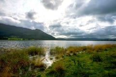 Όμορφη λίμνη Bassenthwaite iin η αγγλική περιοχή λιμνών Cumbria Στοκ φωτογραφία με δικαίωμα ελεύθερης χρήσης