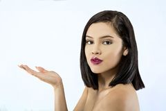 όμορφη λατινική γυναίκα στοκ φωτογραφίες με δικαίωμα ελεύθερης χρήσης