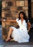 όμορφη λατινική γυναίκα στοκ εικόνα
