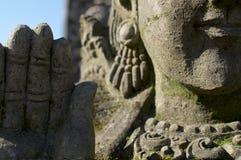Όμορφη λεπτομέρεια αγαλμάτων πετρών του Βούδα στοκ φωτογραφία με δικαίωμα ελεύθερης χρήσης