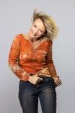 Όμορφη μέση γυναίκα ηλικίας Στοκ φωτογραφία με δικαίωμα ελεύθερης χρήσης
