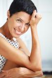 Όμορφη μέση ηλικίας γυναίκα Στοκ φωτογραφία με δικαίωμα ελεύθερης χρήσης