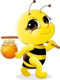 όμορφη μέλισσα Στοκ Εικόνες