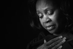 όμορφη μαύρη γυναίκα στοκ εικόνες με δικαίωμα ελεύθερης χρήσης
