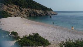 Όμορφη μεγάλη παραλία στοκ φωτογραφίες με δικαίωμα ελεύθερης χρήσης
