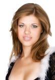 όμορφη μεμβρανοειδής γυναίκα Στοκ Εικόνες