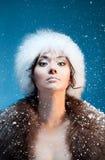 όμορφη μογγολική γυναίκ&alpha Στοκ Εικόνες