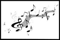 όμορφη μουσική Στοκ Φωτογραφία
