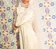 Όμορφη μουσουλμανική νύφη στοκ φωτογραφία με δικαίωμα ελεύθερης χρήσης