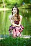 Όμορφη νέα γυναίκα Στοκ εικόνες με δικαίωμα ελεύθερης χρήσης