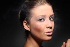 Όμορφη νέα γυναίκα Στοκ Φωτογραφίες