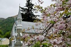 Όμορφη Νέα Ζηλανδία Εκκλησία Arrowtown Στοκ εικόνα με δικαίωμα ελεύθερης χρήσης