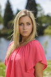 όμορφη νεολαία γυναικών Στοκ Εικόνα