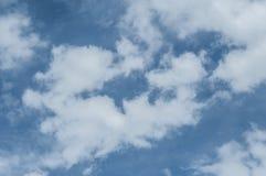 όμορφη νεφελώδης σύσταση ουρανού Στοκ εικόνα με δικαίωμα ελεύθερης χρήσης