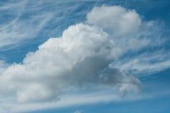 όμορφη νεφελώδης σύσταση ουρανού Στοκ φωτογραφίες με δικαίωμα ελεύθερης χρήσης