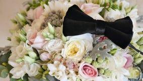 όμορφη νύφη ανθοδεσμών Στοκ εικόνα με δικαίωμα ελεύθερης χρήσης