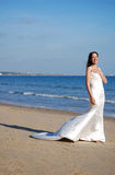 όμορφη νύφη ευτυχής Στοκ φωτογραφίες με δικαίωμα ελεύθερης χρήσης