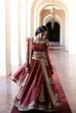 όμορφη νύφη Ινδός Στοκ φωτογραφία με δικαίωμα ελεύθερης χρήσης