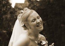 όμορφη νύφη 01 Στοκ Εικόνα