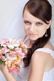όμορφη νύφη στοκ εικόνες