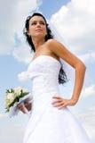 όμορφη νύφη Στοκ Φωτογραφία