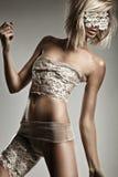 Όμορφη ξανθή γυναίκα στοκ εικόνες με δικαίωμα ελεύθερης χρήσης