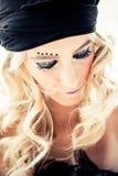 όμορφη ξανθή γυναίκα στοκ φωτογραφία με δικαίωμα ελεύθερης χρήσης